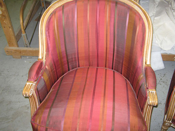 Upholstered Chair Saved
