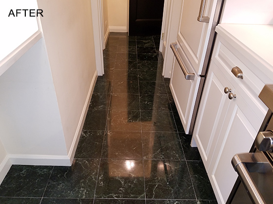 Matching Finish On Replacement Tiles