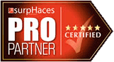 Certified SurpHaces PRO Partner