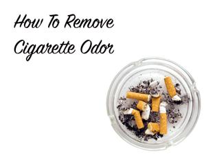 Remove Cigarette Odor